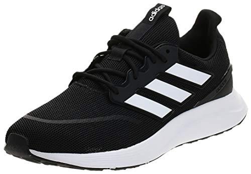 adidas Energyfalcon, Zapatillas para Correr Hombre, Black Negbás FTW Bla Grisei 000, 45 1/3 EU