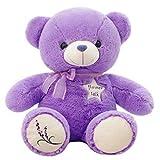 Topker Lavendel-weiche Plüsch-Spielzeug-Bären-Puppe Lila