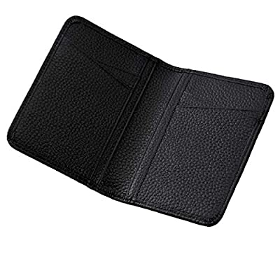 CNHUALAI Credit Card Holder Wallets for Men Genuine Leather