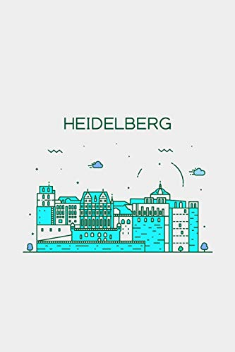 Heidelberg Minimalist Travel Notebook [Lined] [6x9] [110 pages]