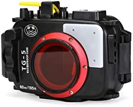 Seafrog WPC-TG4 Waterproof housing case Underwater Diving 195FT/60M Works for Olympus TG-3/TG-4 Cameras (WPC-TG3/TG4)