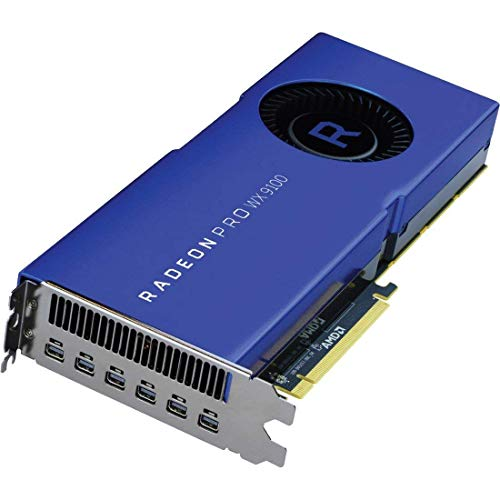 AMD 100-505957 - Tarjeta gráfica (Radeon Pro WX 9100, 16 GB, Memoria de Alto Ancho de Banda de Segunda generación (HBM2), 2048 bit, 945 MHz, 7680 x 4320 Pixeles)