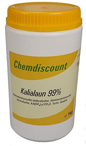 1kg Kalialaun (Kaliumaluminiumsulfat-Dodecahydrat, Alaun), versandkostenfrei!