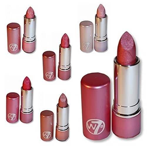 Set Of Six W7 W.Seven Lipsticks - The Pinks