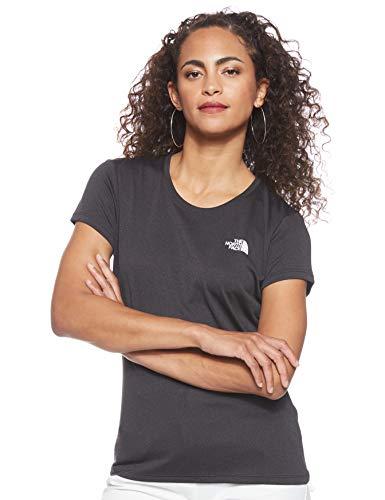 The North Face Reaxion Ampere T-Shirt Femme, Noir (TNF Black Heather), L