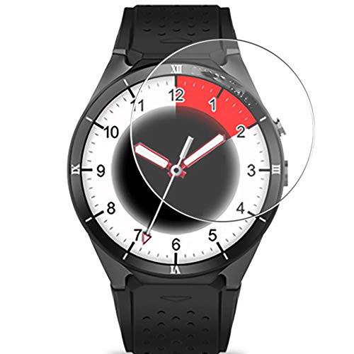 Vaxson 3 Unidades Protector de Pantalla de Cristal Templado, compatible con Kingwear KW88 Pro Smart Watch, 9H Película Protectora Film Guard [No Carcasa Case ]