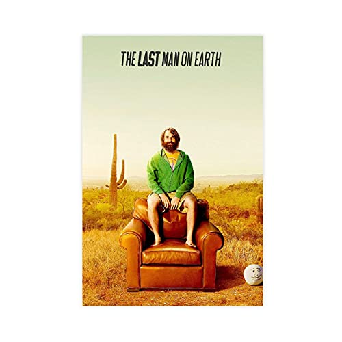 The Last Man on Earth TV Series Poster Corridor Restaurant Cafe Decoration 1 Canvas Poster Wall Art Decor Print Picture Paintings for Living Room Bedroom Decoration Unframe:16×24inch(40×60cm)