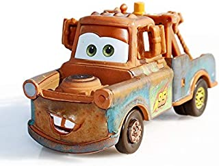 Disney Disney Pixar Cars 2 Red Mater Fire Engine Rescue Squad Alloy Metal Diecast Toy Car Model for Children 1:55 Brand Toys Yellow