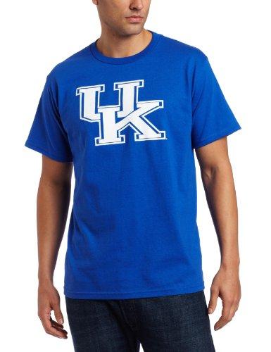 Majestic NCAA Herren Fußball Icon Short Sleeve Tee Medium Shock Blue