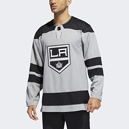 adidas Los Angeles Kings NHL Men's Climalite Authentic Alternate Hockey Jersey (50/M)