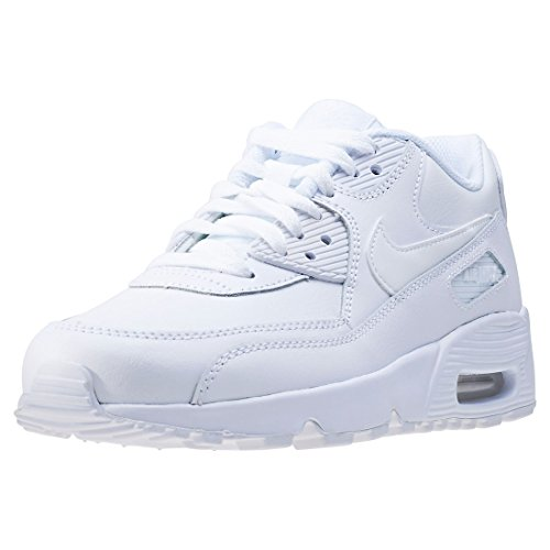 Nike Air MAX 90, Zapatillas Hombre, Blanco (White/White 100), 37.5 EU