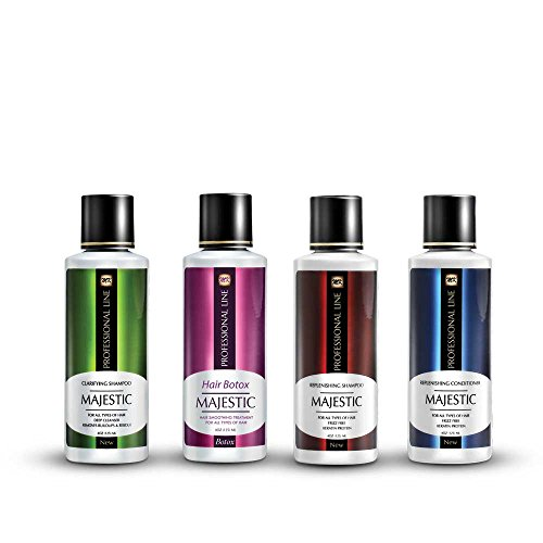 Majestic Hair Botox 125ml (4oz) - Formaldehyde Free - Complete Kit