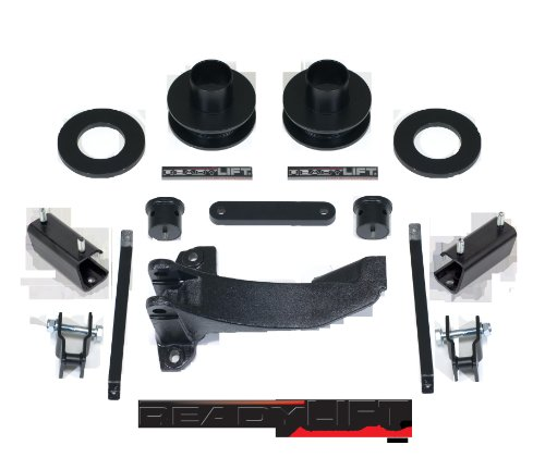 Readylift 66-5055 2.25' Leveling Kit for Tacoma/Prerunner 2WD/4WD, Tires Up to 33', Silver