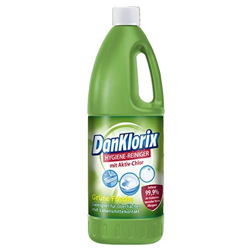 Dan Klorix Hygienereiniger Grüne extrafrisch, 2er Pack (2 x 1,5 l)