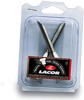 Set 6 beccucci Stella 4 mm Inox 18//10 Lacor 68924