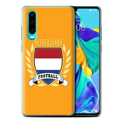 eSwish telefoonhoesje/Cover/Skin/HUAGP-CC/Voetbal Embleem Collectie Huawei P30 2019 Netherlands/Dutch