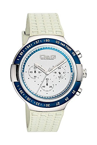 Dolce & Gabbana - Reloj de Caballero, Correa de Goma - Color Blanco