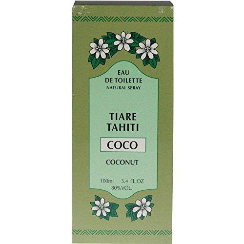 Monoi Tiare Tahiti Eau De Toilette Natural Spray CoCo Coconut -- 3.4 fl oz by Monoi Tiare Tahiti