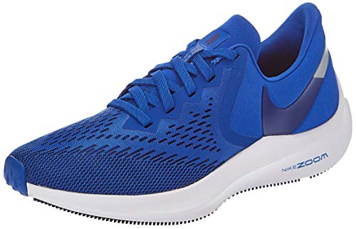 Nike Men's Air Zoom Winflo 6 Track & Field Shoes, Game Royal/Deep Royal Blue, 10