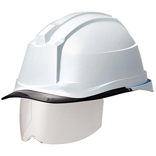 ミドリ安全 ヘルメット 一般作業用 電気作業用 スライダー面 SC19PCLS RA3 αライナー付 ホワイト/スモーク
