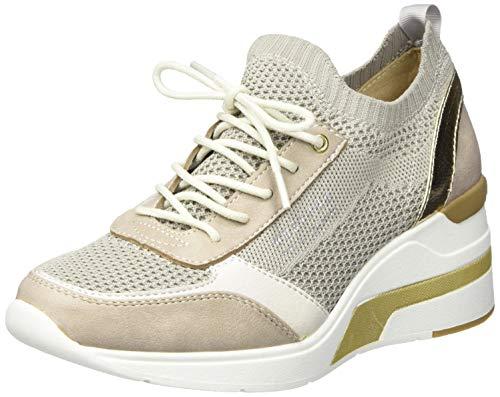 MUSTANG Damen 1303-303-4 Sneaker, Beige (Beige 4), 42 EU