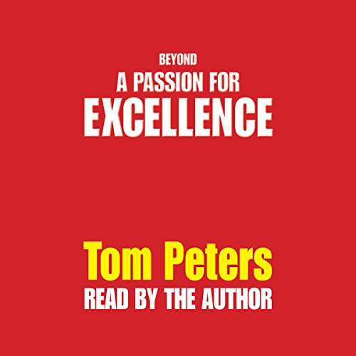 Beyond a Passion for Excellence audiobook cover art