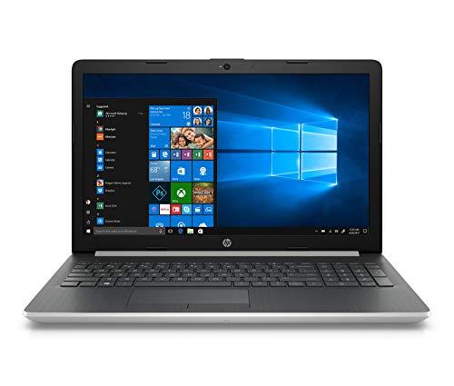 """HP Notebook 15-da0085ns - Ordenador Portátil 15.6"""" HD (Intel Core i3-7020U, 8 GB RAM, 256 GB SSD, Intel Graphics, Windows 10), Color Plata - Teclado QWERTY Español"""