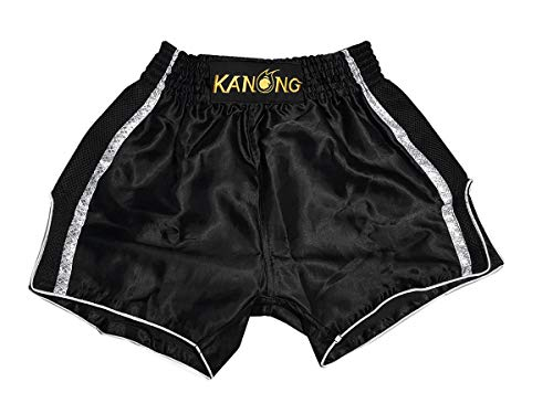Kanong Muay Thai Kick Boxen Hose Hosen Shorts KNSRTO-231-Marine-M