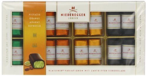 Photo of Niederegger Marzipan Classic Mini Loaves Assorted Chocolate 200 g (Pack of 2)