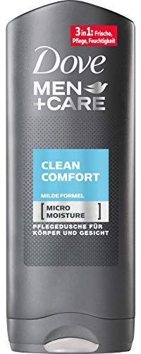 Dove Men+Care Clean Comfort Douchegel, 6 x 250 ml