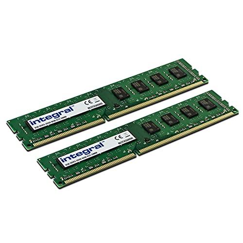 Integral Memory IN3T8GNAJKIK2 Kit de 16GB (2x8GB) de memoria RAM DDR3 1600MHz SDRAM Escritorio/Ordenador PC3-12800