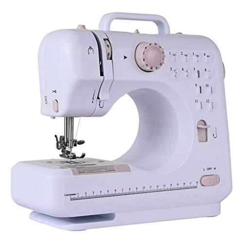 Yihaifu 12 Puntadas máquina de Coser eléctrica de múltiples Funciones de la reparación de la máquina 12 reemplazable prensatelas Bricolaje Hacer a Mano de la reparación Máquina para Hacer Punto