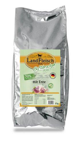 Landfleisch Dog Softbrocken Adult mit Ente, 1er Pack (1 x 5 kg)