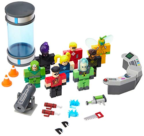 Jazwares Roblox Heroes of Robloxia Feature 21 Pieces