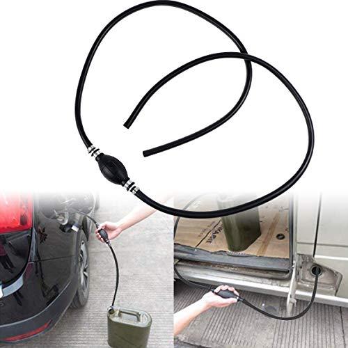 NC56 ZAMDOE Handpumpe benzinpumpe öl Wasser Notpumpe mit Pumpball Außenborder Bootstank kraftstoffpumpe, für Boot Auto Fahrzeug Diesel Benzin Öl(10mm X 200cm)