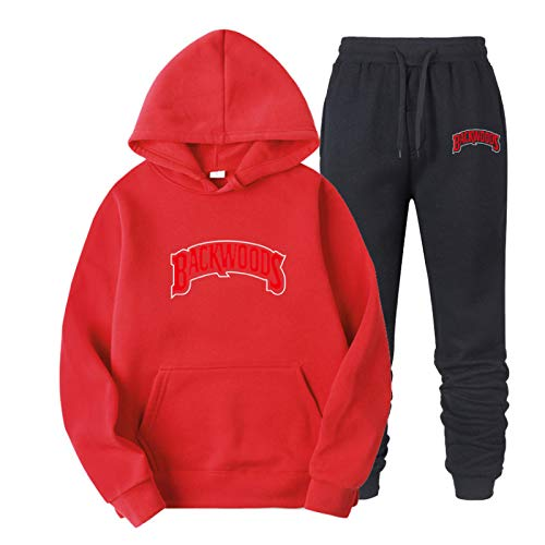 Backwoods Hoodie Lightweight Street Men's And Women's Sweatshirt Fashion Letters Casual Pants Baseball Uniform XXL