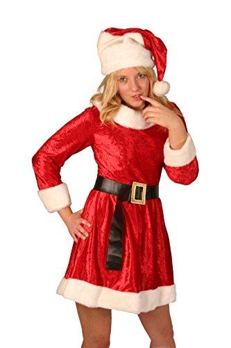 Santa Miss Velvet 3 Pc Short Dress