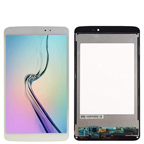 Kit de repuesto de pantalla para LG G Pad 8.3 V500, pantalla LCD, pantalla táctil, digitalizador, montaje de cristal con kit de reparación de marco (color: blanco con marco)