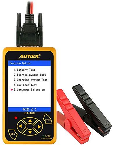 Autool BT-460 Cell Analyzer-Fahrzeugdiagnosewerkzeug mit 4-Zoll-TFT-Farbdisplay