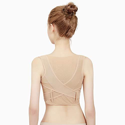 ZHAO YING Kalte Sensation Sweat-saugfähig atmungsaktiv unsichtbare Frau ultradünne Adult Unterwäsche Anti-Kamel Zurück Bruststütze Korrektur Artifact (Color : Natural Section B, Size : M)