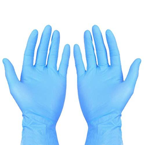 T4U Guantes de Jardiner/ía Impermeables para Hombres y Mujeres con Revestimiento Antideslizante Protector Letax Tama/ño para Ni/ños Disponible Guantes de Trabajo Multiprop/ósito 2 Pares Talla-L
