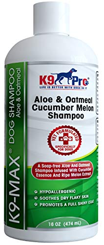 Oatmeal Dog Shampoo and Conditioner - For Dogs With Allergies And Dry...