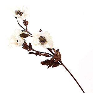 Artificial and Dried Flower Head Silk Fake Artificial Poppy Flowers Wedding Flowers Bouquet Party Home Artificial Flowers House Christmas Supplies Decor – ( Color: 2 )