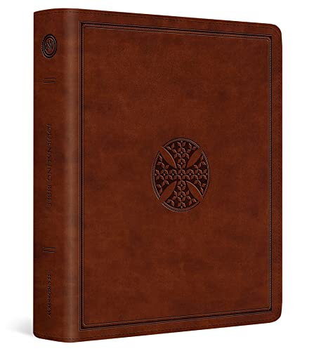 Compare Textbook Prices for ESV Journaling Bible TruTone, Brown, Mosaic Cross Design  ISBN 9781433562013 by ESV Bibles