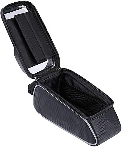 Waterproof Series Handlebar Bag with operable Universal Silicone Bike Includes Sun Visor, for Bikes, Road Bikes, Mountain Bikes, Scooters, Pushchairs & Motorbikes