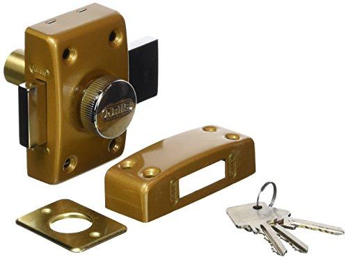 ABUS CLK CB 40 B C Schloss mit Zylinder und Knopf, 40mm, bronzefarben