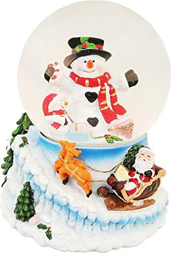 Lightahead Snowman Water Globe, Multi