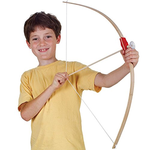 Tobar 12939 Wooden Bow and Arrows, Mixed