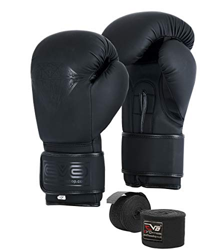 EVO Maya Hide Leather Pro GEL Boxing Gloves For MMA Punch...
