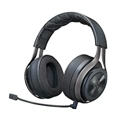 Powered by state-of-the-art DTS Headphone: x 7.1 Surround sound audio Technology, Neodymium 50mm drivers, highly detailed positional audio specially crafted for gaming & a new level of audio immersion 20+ hour battery life: the built-in rechargeable ...